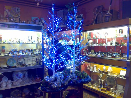 Christmas cheer at Clare Antiques